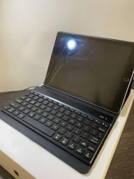 iPad (6ªgeração) 32gb usado com teclado bluetooth e capinha
