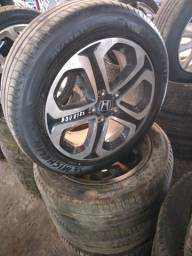 Conjunto de Rodas Aro 17' - Honda HRV