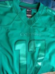 Camisa Nike Futebol Americano Dolphins g/gg