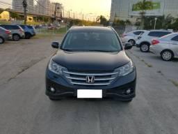 Honda CRV 2013 EXL + Teto Solar e Couro Automática
