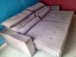 Sofá maravilhoso retratil e reclinável comprado na anjos sofá