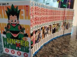 Coleção mangás Hunter X Hunter - Originais em japonês