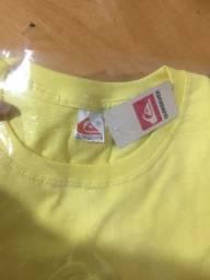 Camisetas 100% algodão , tamanho P e M , 35$