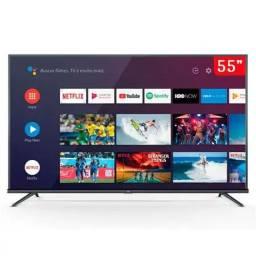 Smart TV 4K 55 Polegadas TCL LED Ultra HD<br><br>