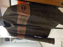 Jaqueta Couro Legítimo Harley Davidson (original) usada