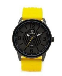 Relógio Masculino Tuguir Analógico 5053 Amarelo/Preto