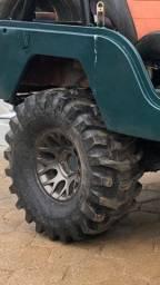 4 pneus aro 15 yokohama M/T trilha