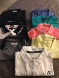 Lote de blusa Polo
