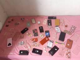 Capinhas de celular $6 reais cada capinha