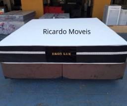 Conjunto Box King Eros Luxo Semi Ortopeico