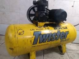 Compressor schulzcsl20/200 140libras usado