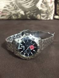 Relógio técnico original aço