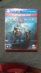 Jogo de PS4 God of War.