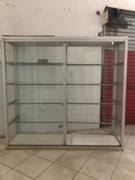 Vitrines vidro para loja