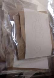 Modelagem de roupas