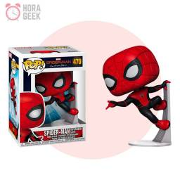 Funko Pop! Marvel: Spider-Man: Far From Home (Upgraded Suit) - Original #470