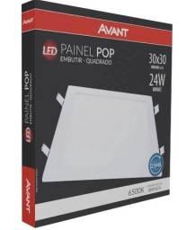 Painel/Plafon LED Avant Pop Embutir Quadrado 24w 30cm 6500k Bivolt