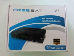 Receptor de satélite freesat v7 com wifi