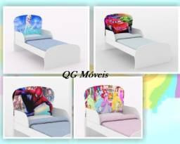 Cama e mini cama infantil NOVO caminha juvenil Frozen e carros princesas