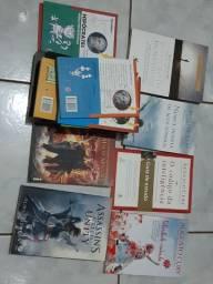Livros diversos para doação