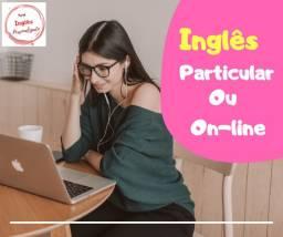 Aula de Inglês Particular ou Online