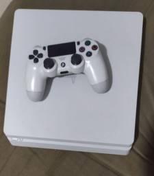 PS4 slim 500 gb branco parcelo em até 12 vezes no cartão de crédito