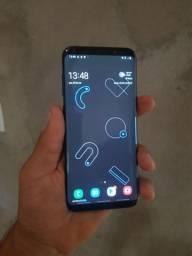 Samsung S8+ PLUS v/t celular funciona tudo Aceito Cartão