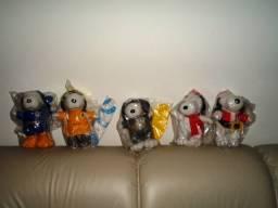 Coleção Completa Do Snoopy Do Habibs