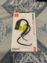 Headphone JBL Endurance Jump, completo, estado de novo