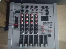 Mesa de som Datrel 4 canais USB MVX 42T