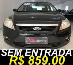 Ford Focus 2.0 Sedan Glx Único dono 2012 Preta