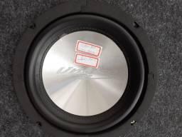 """Sub woofer 8"""" Unlike 160rms com box novo com garantia instalado em seu carro"""