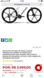 Bike aro 29 roda de magnésio