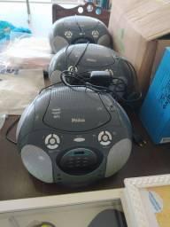 Vendo 4 aparelhos de som Philco CD player