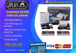 Mini Game - Videogame Retrô 620 jogos nintendinho