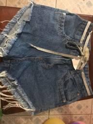 Short Jeans tamanho 36