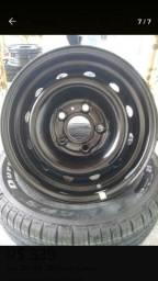 roda 15 ferro hr para estepe ou reposição semi novA