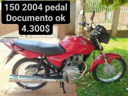 150 2004 pedal Documento ok recibo em branco ( está em dourados ms)