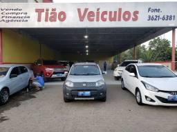 FIAT UMO EVO WAY ANO E MOD 2014 UNICO DONO COMPLETO ( LOJA TIÁO VEÍCULOS CARPINAPE)