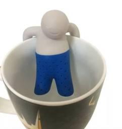 Boneco Criativo Infusor De Chá Mr Tea Silicone
