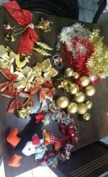 Árvore de natal + enfeites e uma linda guirlanda de feltro