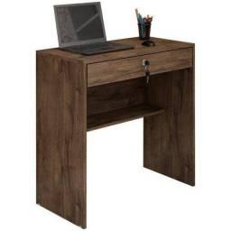 Escrivaninha Mesa Para Notebook 1 Gaveta Com Chave Andorinha JCM Movelaria