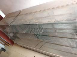 Balcão Espósitor de vidro