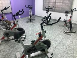 Bikes de spinning moviment
