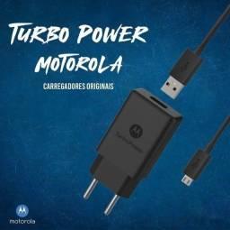 Carregador Turbo Power Motorola Tipo-C e Vincular