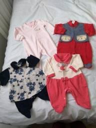 Lotinho de roupas menina RN a 6 meses