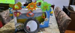 Arco Mobile Flexível desenvolvimento do bebê e *Espelho retrovisor para carro Multikids