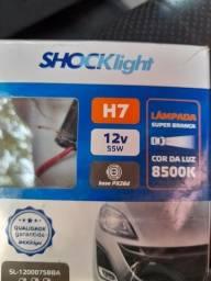 Lampadas H7 super Branca