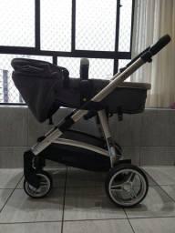 Título do anúncio: Carrinho de bebê EPIC GRAY CLASSIC com bebê conforto da INFANTI