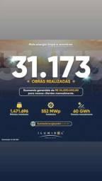 Título do anúncio: Ilumisol energia solar